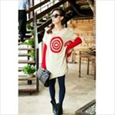 Fashion Loose Splice Design Knitted Sweater Coat Knitwear with Concentric Circles Pattern for Women Girls http://www.sbox2u.com/fashion-loose-splice-design-knitted-sweater-coat-knitwear-with-concentric-circles-pattern-for-women-girls_p59667099