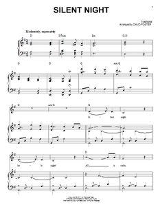 Michael Buble Silent Night Easy Piano Sheet Music, Chords Print Sheet Music, Easy Piano Sheet Music, Sheet Music Notes, Digital Sheet Music, Piano Music, Michael Buble, Silent Night Sheet Music, Music Chords, Playing Piano