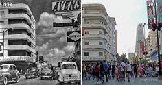 Bulevar de Sabana Grande (1952-2011) Times Square, Street View, Retro, Travel, Bella, Grande, Watercolor, Littoral Zone, Caracas