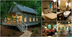 Are looking for a piece of paradise with a smaller footprint? Then you have to check out the Camp Callaway Cottage! This 1,091 square foot home is stunning! With two bedrooms, a full bathroom, living room, dining room, kitchen and two porches, it has everything you need to relax and enjoy life.