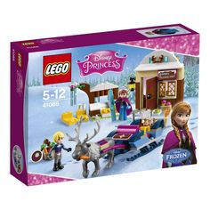 Compare prices on LEGO Disney Princess Set Anna and Kristoffs Sleigh Adventure from top online retailers. Save money on your favorite LEGO figures, accessories, and sets. Frozen Disney, Princesa Disney Frozen, Film Frozen, Lego Frozen, Disney Princess Set, New Disney Princesses, Best Christmas Toys, Kids Christmas, Anna Y Kristoff