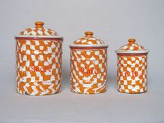 Got 'em....on their way to their new home....love the droopy pattern enamelware & my first ever pieces!