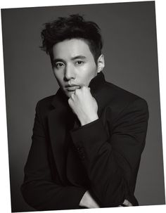 Won Bin - Harper's Bazaar Magazine March Issue '13