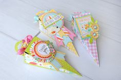 Jana E's Gallery: Echo Park Paper Spring Tussie Mussies