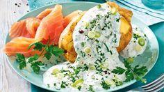 Unsere Rezepte des 5-Tage-Plans vereinen Kartoffeln, Quark und hochwertige Fettsäuren, um die Fettdepots rasch schmelzen zu lassen.