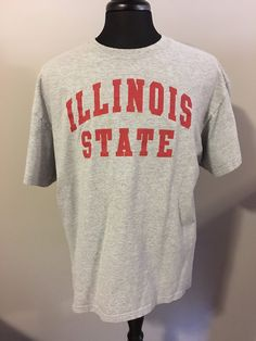 25b504a1e Vintage Illinois State University T-Shirt by OldSchoolCollegiate Illinois  State