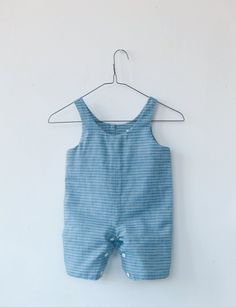 Kids Baby Boys Long Sleeve Stripe Rompers Bodysuit Jumpsuit Clothes Outfit #8Y