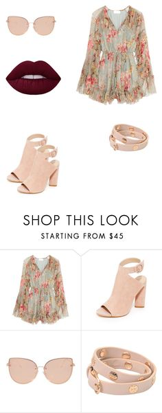 """""""Untitled #79"""" by ganga-chaudhary on Polyvore featuring Zimmermann, Kendall + Kylie, Topshop and Tory Burch"""