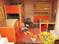 60er 70er Bodo Hennig Kinderzimmer by diepuppenstubensammlerin, via Flickr