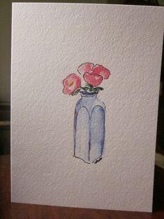 Total Simplicity Watercolor Card