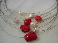 corals and cultivated pearls