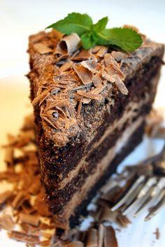 Chocolate Mousse Dream Cake . . .