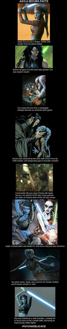 Aayla Secura  // funny pictures - funny photos - funny images - funny pics - funny quotes - #lol #humor #funnypictures
