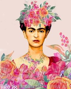 Frida Kahlo Fabric, Frida Kahlo Artwork, Andy Warhol, Aquarell Tattoo, Frida And Diego, Block Craft, Spirited Art, Pastel Watercolor, Mona Lisa
