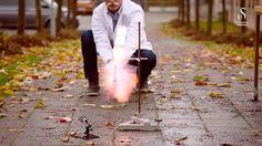 Slik lager du rakett og pyroshow i miniatyr - Fædrelandsvennen