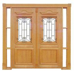 Porta Colonial, Estilo Colonial, Steel Doors, Entrance Doors, Wooden Doors, New Homes, Architecture, Furniture, Home Decor