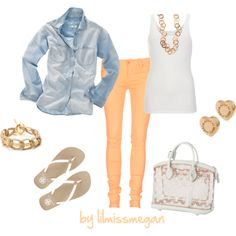 Casual & Cute, created by lilmissmegan on Polyvore
