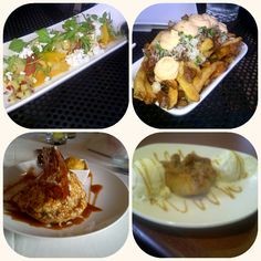 a month of great eats! Origins restaurant, Bier Mrket, The Windsor Arms dessert!