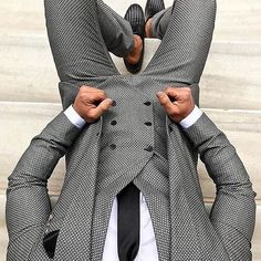 Suit in check where are we all heading this evening? Credit: always dress to impress _______________________________________________________________ Dapper Suits, Dapper Men, Suit Fashion, Mens Fashion, Fashion Outfits, Suit And Tie, Look At You, Gentleman Style, Stylish Men