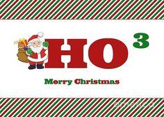 #Santa #HoHoHo #Christmas #GreetingCard #JHughesDesigns