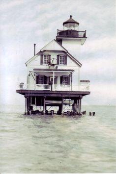 Roanoke River Lighthouse, NC (original location)