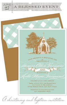 love these invites. sketch of Sam Jones? Kids Birthday Party Invitations, Birthday Parties, Wedding Paper, Wedding Cards, Invitation Cards, Invites, Baby Boy Christening, Baby Blessing, Christening Invitations