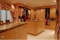 Dressing Room Closet | Contemporary Dressing Room Image