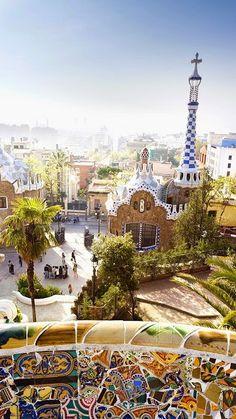 Parc Guell, Barcelona, Spain by manuel mendez estevez