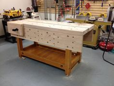 Nicholson bench build More