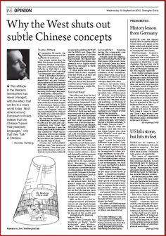 """Few people realize that the Bible discourages people from studying foreign languages. The story of thetowerofBabelinforms us that there is one humanity (God's one), only that """"our languages are confused"""". From a European historical perspective, that has always meant that, say, any German philosopher could know exactly what the Chinese people were thinking, only that he couldn't understand them. So instead of learning the foreign language, he demanded a translation. [...]"""