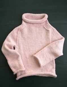 The Purl Soho Pullover in Alpaca Pure