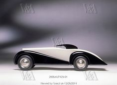 Toy Car, manufactured by Vilac. France, 1989. Editorial Use Only