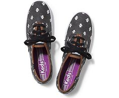 See Keds Shoes for women! Find canvas shoes and tennis shoes on the Official Keds Site. Choose colors and sizes as you browse our full collection of Keds women's shoes. Keds Sneakers, Keds Shoes, Canvas Sneakers, Polka Dot Shoes, Keds Champion, Sneaker Stores, Lace Up Shoes, Trainers, Footwear
