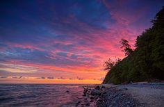 Baltic Sea by Lukasz Malkiewicz on Magic Hour, Baltic Sea, Amalfi, Clouds, Sky, Sunrises, World, Amazing, Nature