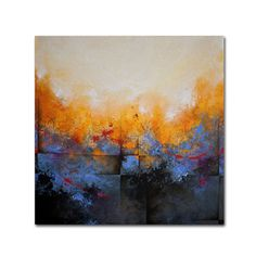 """""""My Sanctuary"""" by Cody Hooper Painting Print on Wrapped Canvas  by  Trademark Art"""