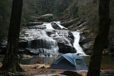 Panther Creek GA,   Favorite place for camping!!!