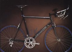 1994 - Cannondale R700 - the fastest triathlon bike on this planet - my personal start in professional triathlon