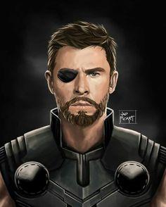 Thor is badass in Avengers infinity war