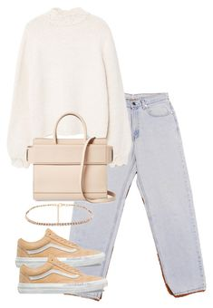 """Untitled #5293"" by theeuropeancloset on Polyvore featuring Levi's, MANGO, Givenchy and Vans"