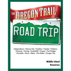 Cross country road trip that follows the original Oregon Trail across northern US, stopping in all the major towns, cities and landmarks.  Various activities to do at each site. The activities cover a range of cross-curriculum fun at each point and include maths, science, language, social studies, geography and more.