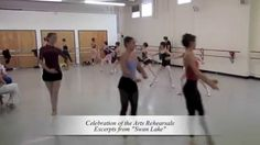 Will you be Celebrating the Arts with us one month from today? Here's a rehearsal clip of your dancers rehearsing excerpts from Swan Lake.  Buy tickets now for the Tobin Center for the Performing Arts' opening, Sept. 4! http://balletsanantonio.org/performances/celebration-of-the-arts/