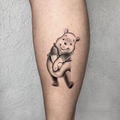Uplifting Winnie the Pooh Tattoos Teddy Bear Tattoos, Baby Tattoos, Friend Tattoos, Mother Daughter Tattoos, Tattoos For Daughters, Cute Finger Tattoos, Cute Tattoos, Piglet Tattoo, Winnie The Pooh Tattoos