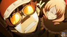 Kekkai Sensen ep. 5 cut scene #kekkai_anime