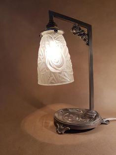 Figurine Métal Papillon Lampe Tôle Lampe de Chevet Table de Nuit