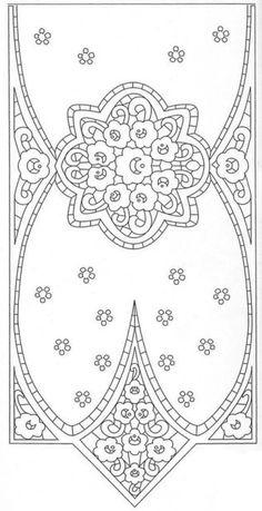 Cutwork Embroidery, Point Lace, Cut Work, Blackwork, Needlework, Symbols, Pattern, Digital, Art