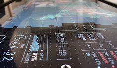 INTERACTIVE TOUCH TABLE INTERFACE on Behance