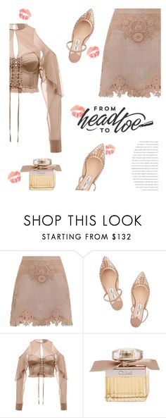 """💋💋"" by fanfanfanfannnn ❤ liked on Polyvore featuring Zimmermann, Jimmy Choo, Puma and Chloé"