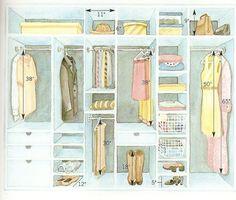 42 Ideas For Master Closet Organization Walk In Built Ins Shoe Storage Closet Redo, Closet Remodel, Build A Closet, Master Bedroom Closet, Bedroom Wardrobe, Closet Storage, Bedroom Storage, Storage Shelves, Shoe Shelves