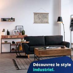 Diy Clock, Clock Wall, Vintage Industrial Furniture, Diy Décoration, Decoration, Home Deco, Design, Garage, Industrial Style