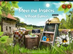 Meet the Insects: Village Edition – Book App